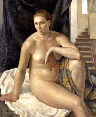Carlo Sbisà, Venere della scaletta, 1928 (Museo Revoltella)