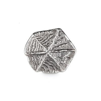 Bild: Ossa-Sepia Guss Manschettenknöpfe für Rebellen rund handgearbeitet aus 925er Sterlingsilber
