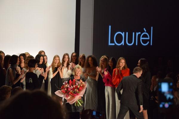Bild: Designerin von Laurèl auf der Fashion Week Berlin