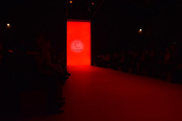 Bild: Anja Gockel auf der Fashion Week Berlin