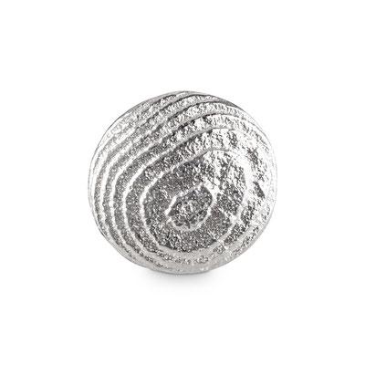 Bild: Runde Ossa-Sepia Guss Manschettenknöpfe für Preisträger handgearbeitet aus 925er Sterlingsilber