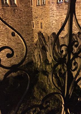 Bild: Geländer auf der Burg Schnellenberg