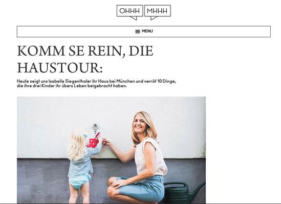 Interview mit Stefanie Luxat, Ohhhmmm...Haustour