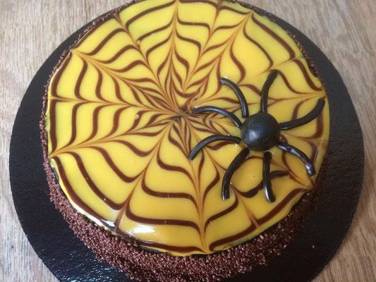 La gâteau d'Halloween de la boulangerie pâtisserie PREISLER à Courcelles-Chaussy
