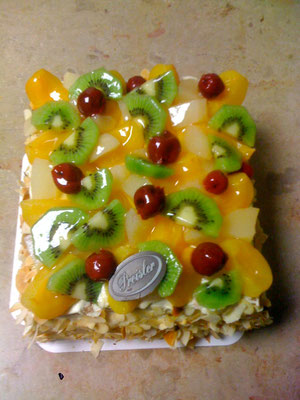 Entremet tous fruits