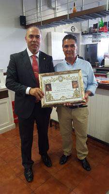 50 años de hermano de D. Pedro Fuentes Velez