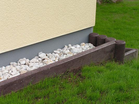 Bordsteine für Einfassung aus Recycling Kunststoff