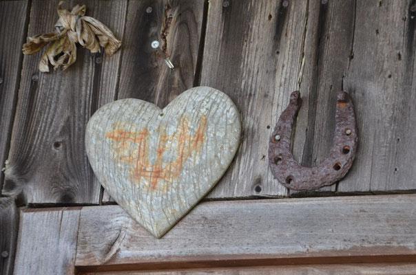 Herz + Hufeisen = Liebesglück gesichert?