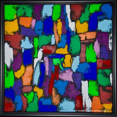 Farbwelten - Twins II                                                              60 x 60 cm