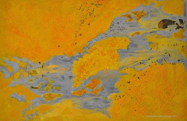 SUN WORLDS                                                                       150 x 100 cm