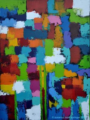 Farbwelten II                                                                          60 x 80 cm