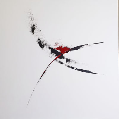 DANCE OF LOVE   80 x 80 cm