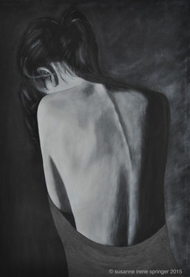DEEP IN THOUGHT              70 x 100 cm