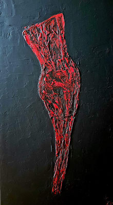 PASSION AGAIN   50 x 100 cm