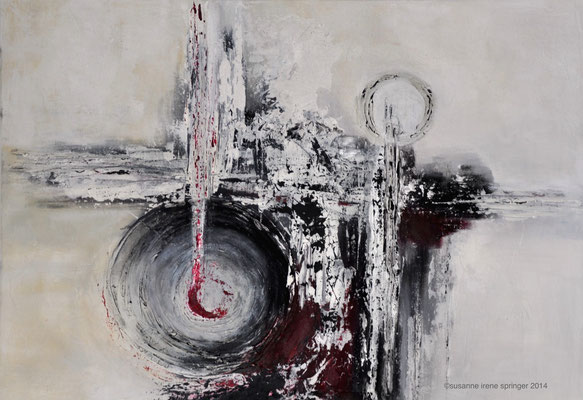 TIME TUNNEL                                                                             100 x 70 cm