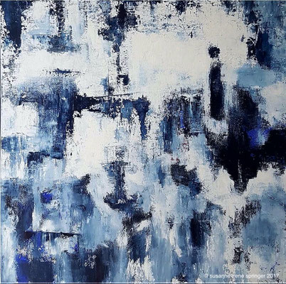 DOUBT IN CHAOS    100 x 100 cm