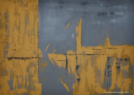Schiff der Hoffnung  III                                                           140 x 100 cm