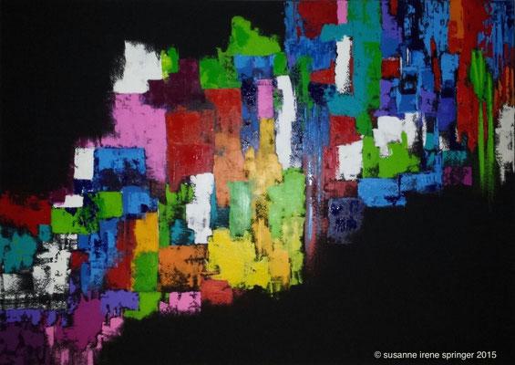 Farbwelten I                                                                        140 x 100 cm