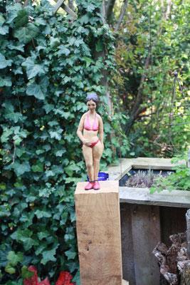 Bikinifigur, Kirsten Baden-Blecks Ausstellung 1.Mai 2017