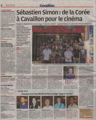 La Provence 16 août 2014
