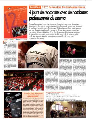 Journal du Luberon - 15 Juillet 2015