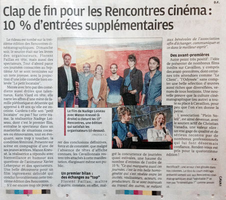 La Provence - Jeudi 29 sept. 2016