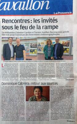 La Provence - Vendredi 23 sept. 2016