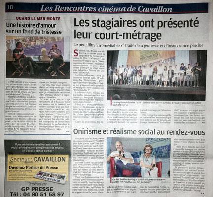 La Provence - Lundi 26 sept. 2016