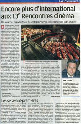 La Provence - Jeudi 11 août 2016