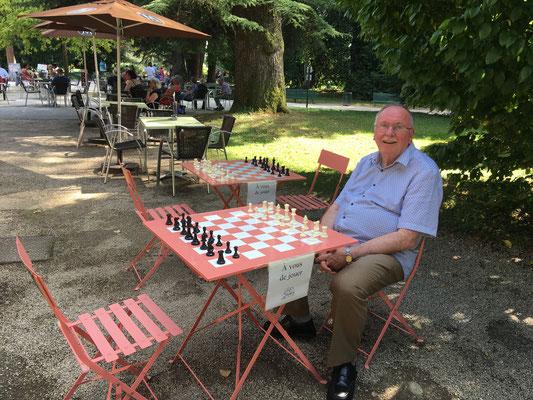 Jean-Marc au parc Massey à Tarbes