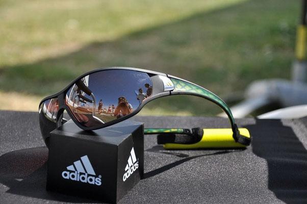 Von Adidas in Österreich produziert für höchste Ansprüche. Eine Brille die alles kann