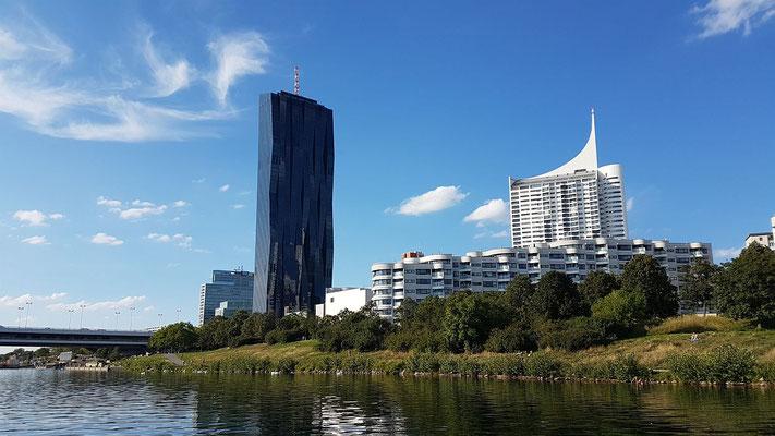Österreichs höchster Wolkenkratzer der DC Tower