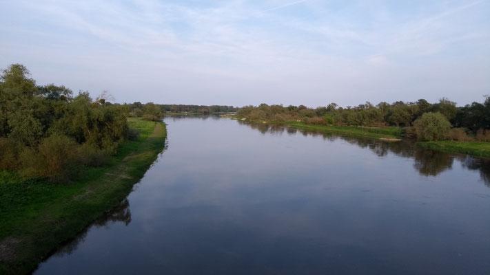 die Elbe im Abendlicht