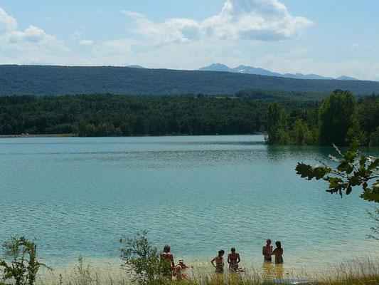 Baignade à Montbel