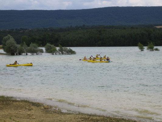 Canoe à Montbel
