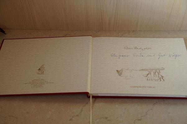 Unser Gästebuch - Ferienhaus am Brückelsee - Erika Wölfeles
