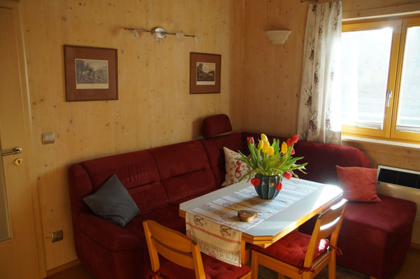 Wohnküche - Ferienhaus am Brückelsee - Erika Wölfel