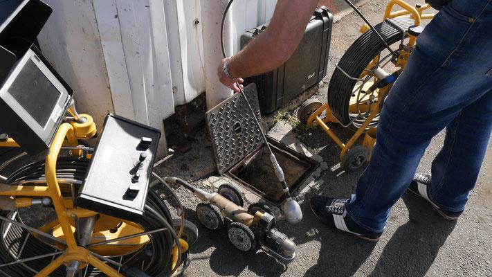 Inspection des tuyauteries dans le Hainaut
