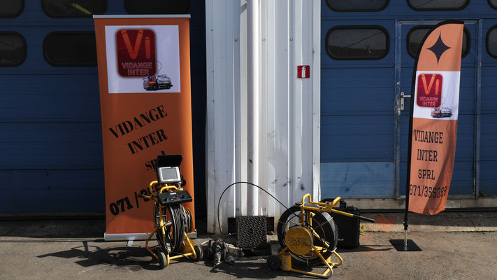 Vidange Inter inspecte vos canalisations à Namur et Charleroi