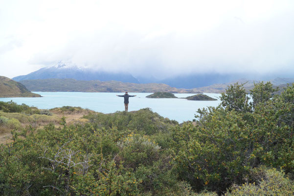 Torres del Paine: Lago Pehoé