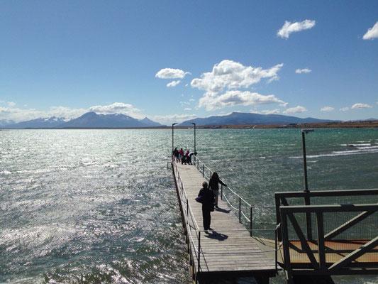 Puerto Natales: La costanera.