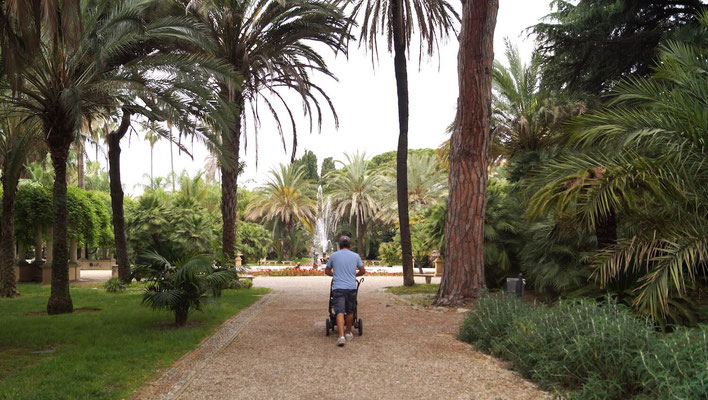 San Remo: Garten der Villa Nobel
