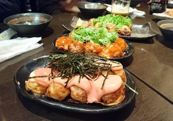 Takoyaki! Leckere Weizenbällchen!