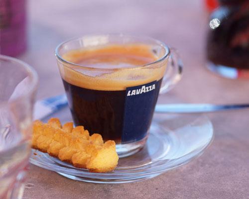 Leckerer Café bei Salsa & Sapori