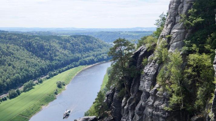 Elbsandsteingebirge: Wanderung zur Bastei