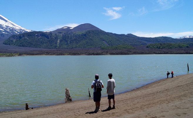 Parque Nacional Conguillió (Chile): Laguna Verde