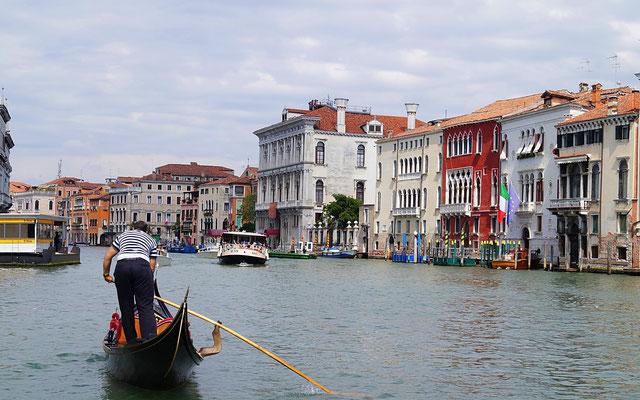 Canal Grande im Vaporetto