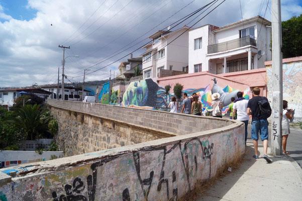 Valparaíso Street Art: Kunst entlang der Straße