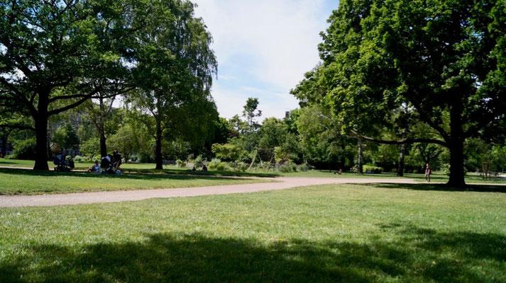 Dresdener Neustadt: Alaunpark