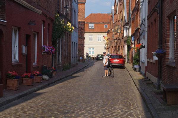 Lauenburg: Ein kleines beschauliches Städtchen an der Elbe.